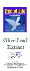 Tree of Life Olive Leaf Extract Brochures (50 qty)