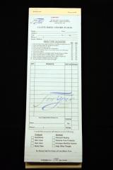 Customer Order Forms (50)