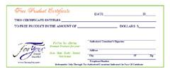 Gift Certificates (10)