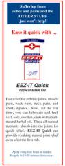 EEZ-IT Quick Topical Balm Oil Cards (50 qty)